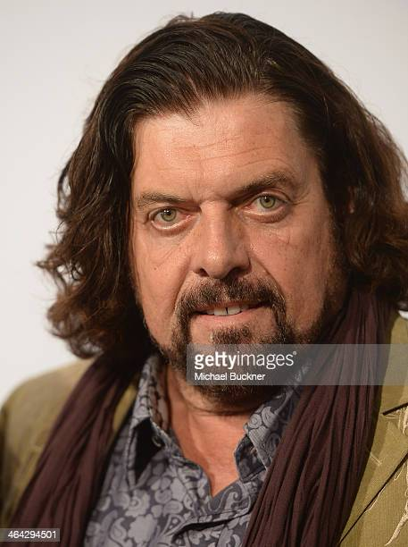 Musician Alan Parsons arrives at the 56th Grammy Awards Producers and Engineers Wing Event Honoring Neil Young at The Village Recording Studios on...