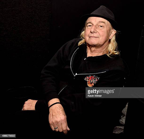 Musician Alan White of Yes appears at the Rock 'N' Roll Fantasy Camp at AMP Rehearsal Studios on November 6 2015 in North Hollywood California