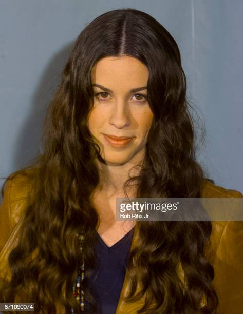 Musician Alanis Morissette at the 42nd Annual Grammy Awards Show on February 23 2000 in Los Angeles California