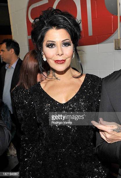 Musician Alejandra Guzman attends the 12th Annual Latin GRAMMY Awards held at the Mandalay Bay Events Center on November 10 2011 in Las Vegas Nevada