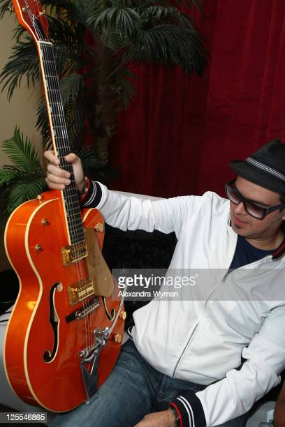 Musician Aleks Syntek attends the 11th Annual Latin GRAMMY Awards Univision Radio Remotes held at Mandalay Bay Events Center on November 8 2010 in...