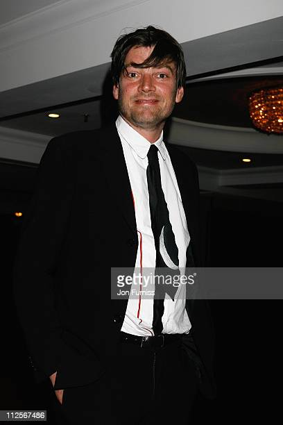 Musician Alex James arrives at the Sony Radio Academy Awards held at the Grosvenor House Hotel on May 12 2008 in London England