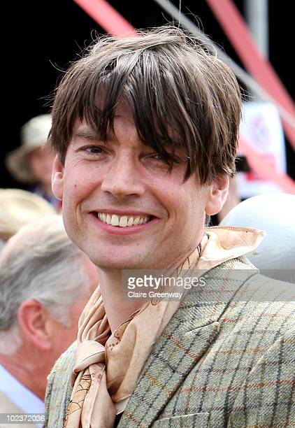 Musician Alex James attends Glastonbury Festival at Worthy Farm Pilton on June 24 2010 in Glastonbury England This year sees the 40th anniversary of...