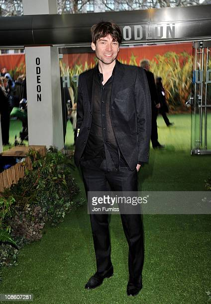 Musician Alex James attends the 'Gnomeo Juliet' premiere at Odeon Leicester Square on January 30 2011 in London England