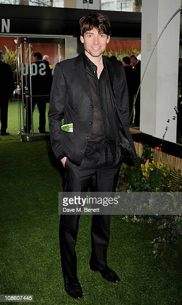 Musician Alex James attends the UK film premiere of Gnomeo and Juliet at Odeon Leicester Square on January 30 2011 in London England