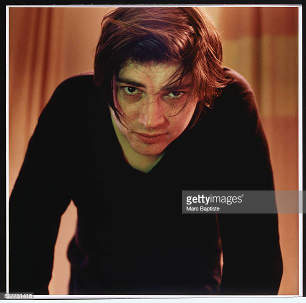 Musician Alex James of Blur in April 1999