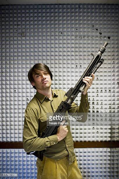 Musician Alex James poses for a portrait shoot in Italy for Live Night Day magazine October 7 2007