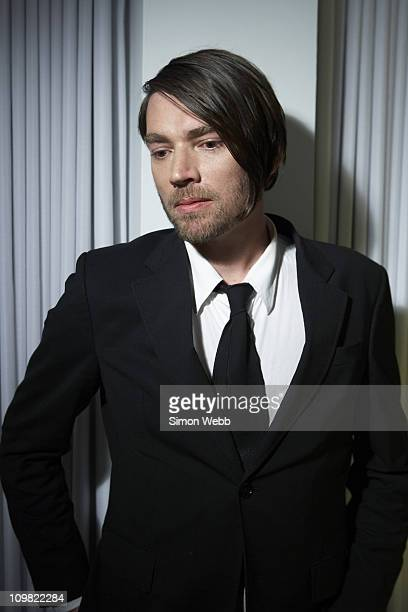Musician Alex James poses for a portrait shoot in London on December 23 2007
