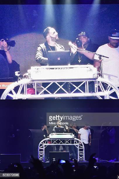 Musician Alex Sensation performs at Mega Mezcla 2016 at Prudential Center on April 22 2016 in Newark New Jersey