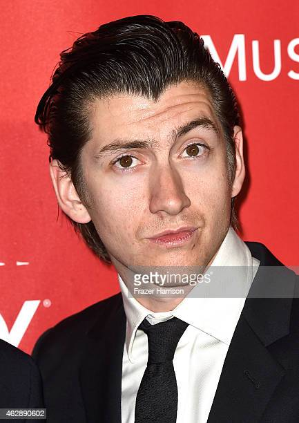 Musician Alex Turner of Arctic Monkeys attend the 25th anniversary MusiCares 2015 Person Of The Year Gala honoring Bob Dylan at the Los Angeles...