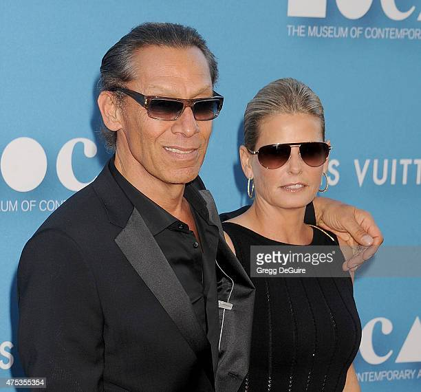 Musician Alex Van Halen and wife Stine Schyberg arrive at the 2015 MOCA Gala presented by Louis Vuitton at The Geffen Contemporary at MOCA on May 30...