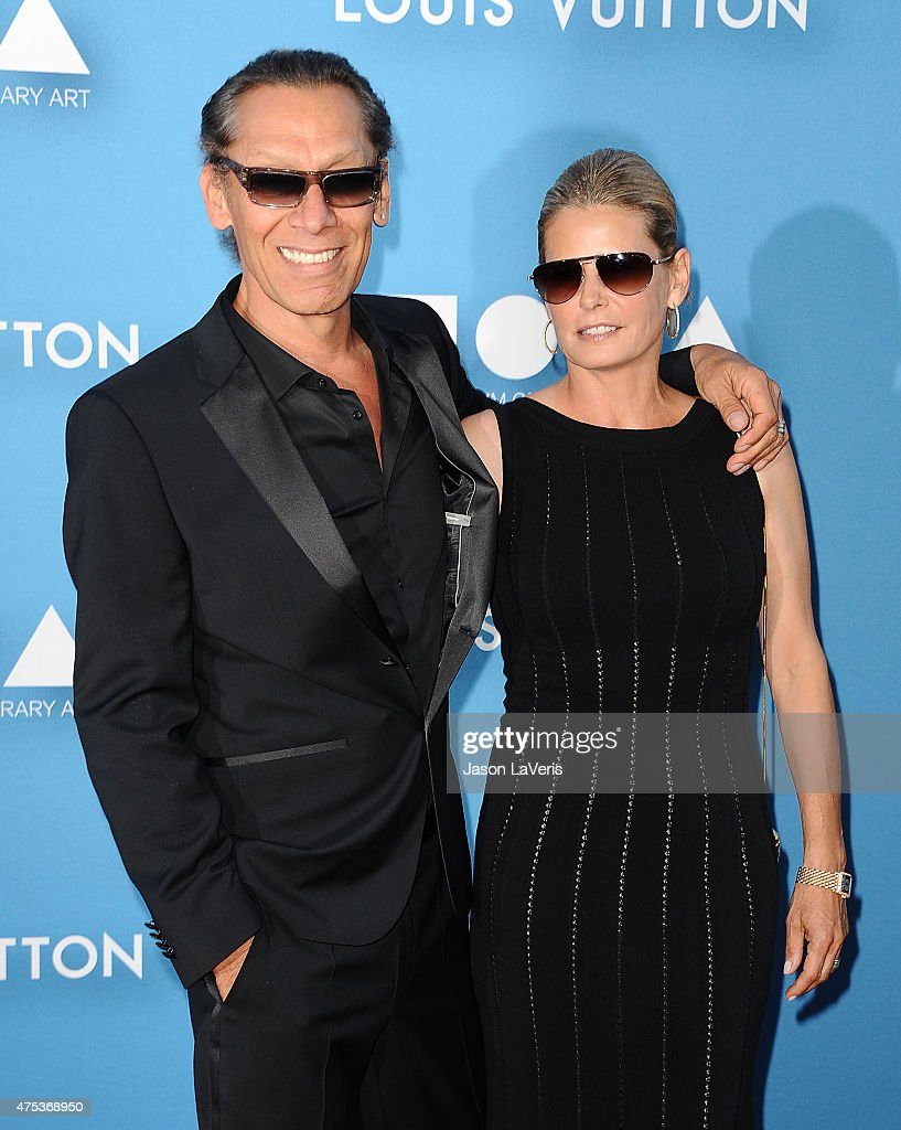 Musician Alex Van Halen and wife Stine Schyberg attend the 2015 MOCA Gala at The Geffen Contemporary at MOCA on May 30, 2015 in Los Angeles, California.