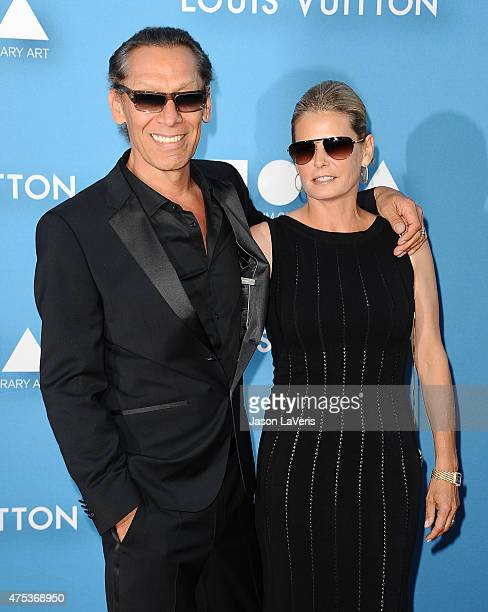 Musician Alex Van Halen and wife Stine Schyberg attend the 2015 MOCA Gala at The Geffen Contemporary at MOCA on May 30 2015 in Los Angeles California