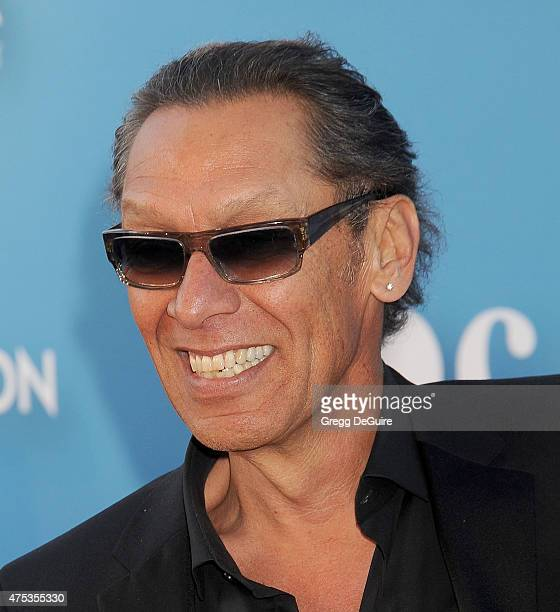 Musician Alex Van Halen arrives at the 2015 MOCA Gala presented by Louis Vuitton at The Geffen Contemporary at MOCA on May 30 2015 in Los Angeles...