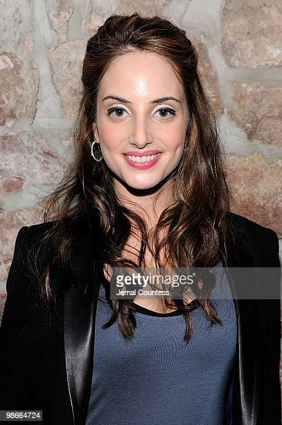 Musician Alexa Ray Joel attends the Last Play At Shea after party during the 2010 Tribeca Film Festival at 675 Bar on April 25 2010 in New York City