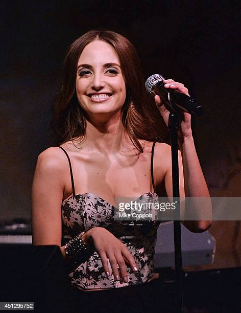 Musician Alexa Ray Joel performs at The Carlyle Hotel on June 26 2014 in New York City