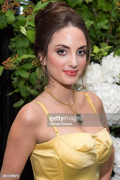 Musician Alexa Ray Joel poses for a photo after her performance at The Carlyle on June 28 2014 in New York City