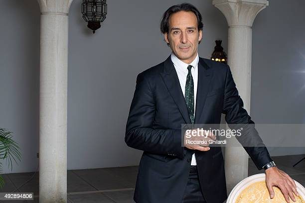 Musician Alexandre Desplat is photographed for Self Assignment in Venice Italy