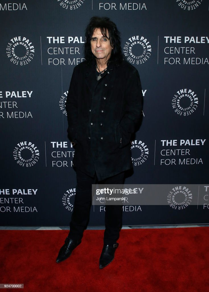 Musician Alice Cooper attends The Paley Center for Media presents: Behind The Scenes: Jesus Christ Superstar Live In Concert at The Paley Center for Media on February 26, 2018 in New York City.