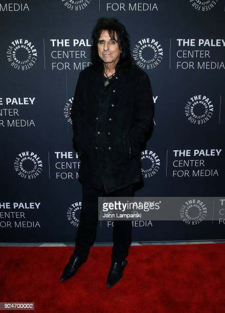Musician Alice Cooper attends The Paley Center for Media presents Behind The Scenes Jesus Christ Superstar Live In Concert at The Paley Center for...