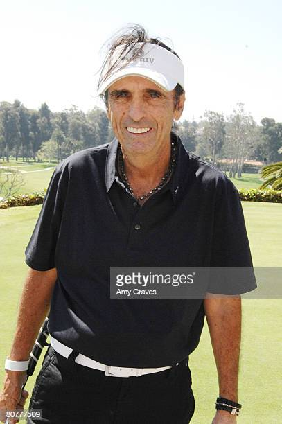 Musician Alice Cooper participates in the Autism Speaks 5th Annual LA Golf Classic at the Riviera Country Club on April 14 2008 in Pacific Palisades...