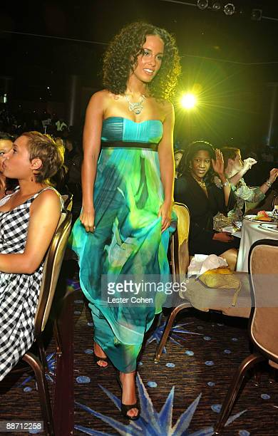 Musician Alicia Keys during the 22nd annual ASCAP Rhythm and Soul Awards held at The Beverly Hilton Hotel on June 26 2009 in Beverly Hills California