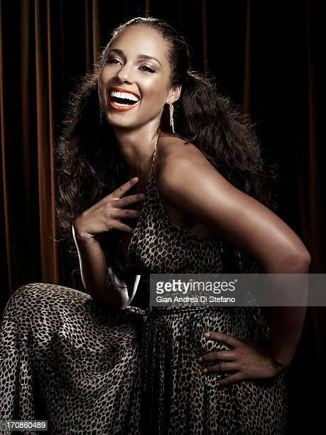 Musician Alicia Keys photographed for Ebony Magazine on November 1 2007 in New York City