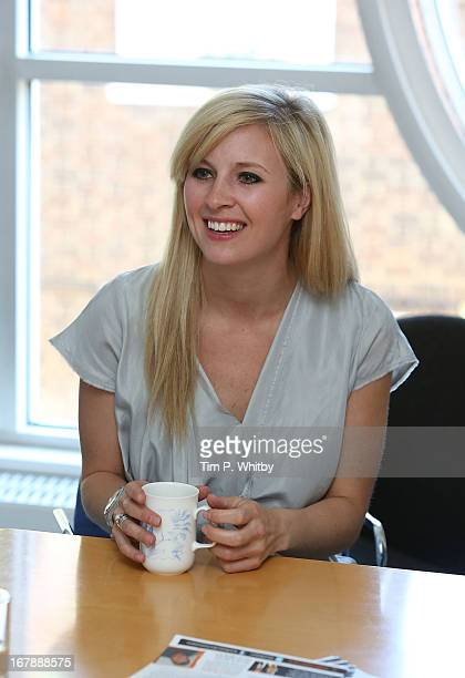 Musician Alison Balsom visits the Nordoff Robbins Music Therapy Centre on May 2 2013 in London England