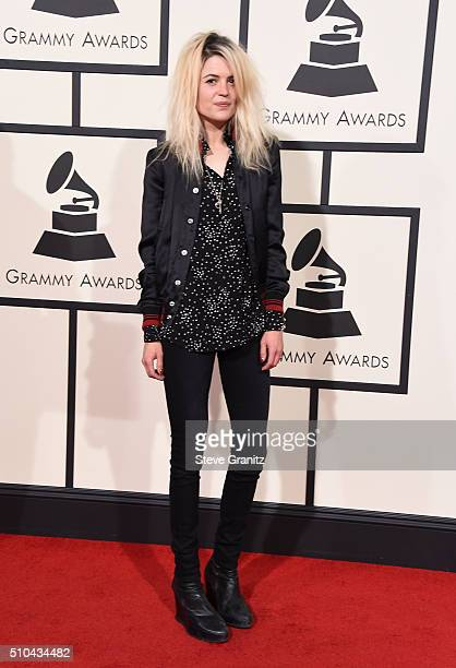 Musician Alison Mosshart attends The 58th GRAMMY Awards at Staples Center on February 15 2016 in Los Angeles California
