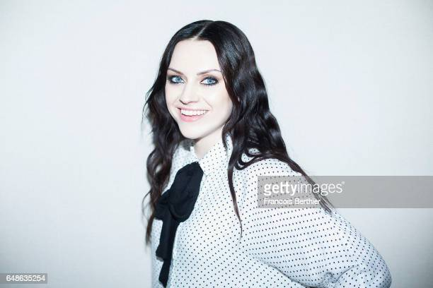 Musician Amy Macdonald is photographed for Self Assignment on February 21 2017 in Paris France