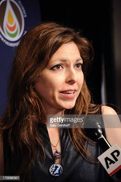 Musician Amy Nelson attends the Hard Rock International's Wille Nelson Artist Spotlight Benefit Concert at Hard Rock Cafe Times Square on June 6 2013...