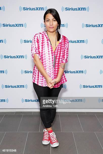 Musician Ana Tijoux visits the SiriusXM Studios on July 9 2014 in New York City