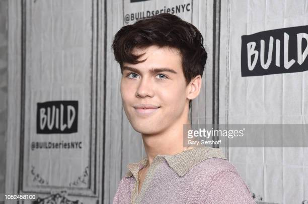 Musician and actor Aidan Alexander visits Build Series to discuss his new single 'I Don't Love You' at Build Studio on October 18 2018 in New York...