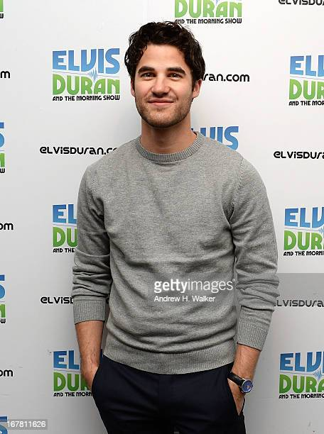APPLY] Musician and actor Darren Criss visits Elvis Duran Z100 Morning Show at Z100 Studio on April 30 2013 in New York City