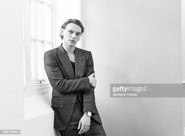 Musician and actor Jamie Campbell Bower is photographed for the Financial Times on February 4 2014 in London England