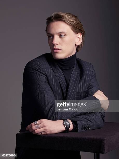 Musician and actor Jamie Campbell Bower is photographed for the Financial Times on February 4, 2014 in London, England.