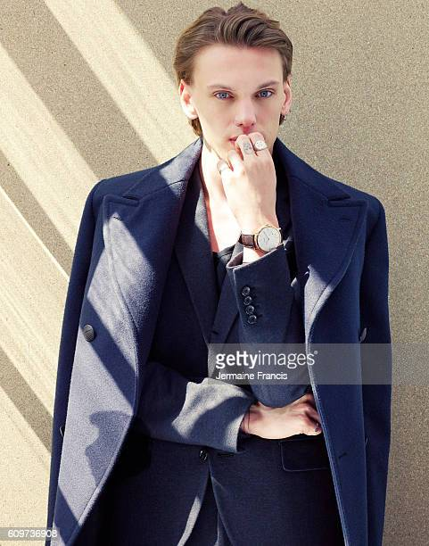 Musician and actor Jamie Campbell Bower is photographed on February 4 2014 in London England