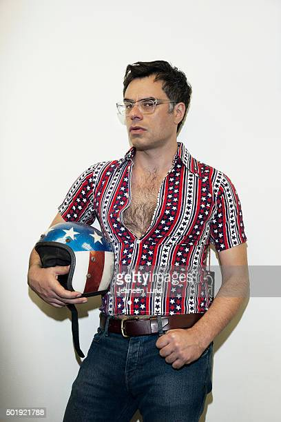 Musician and actor Jemaine Clement is photographed for Bust Magazine on June 1 2015 in New York City