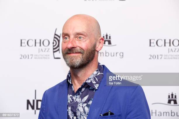 Musician and actor Jon Flemming Olsen during the Echo Jazz 2017 on June 1 2017 in Hamburg Germany