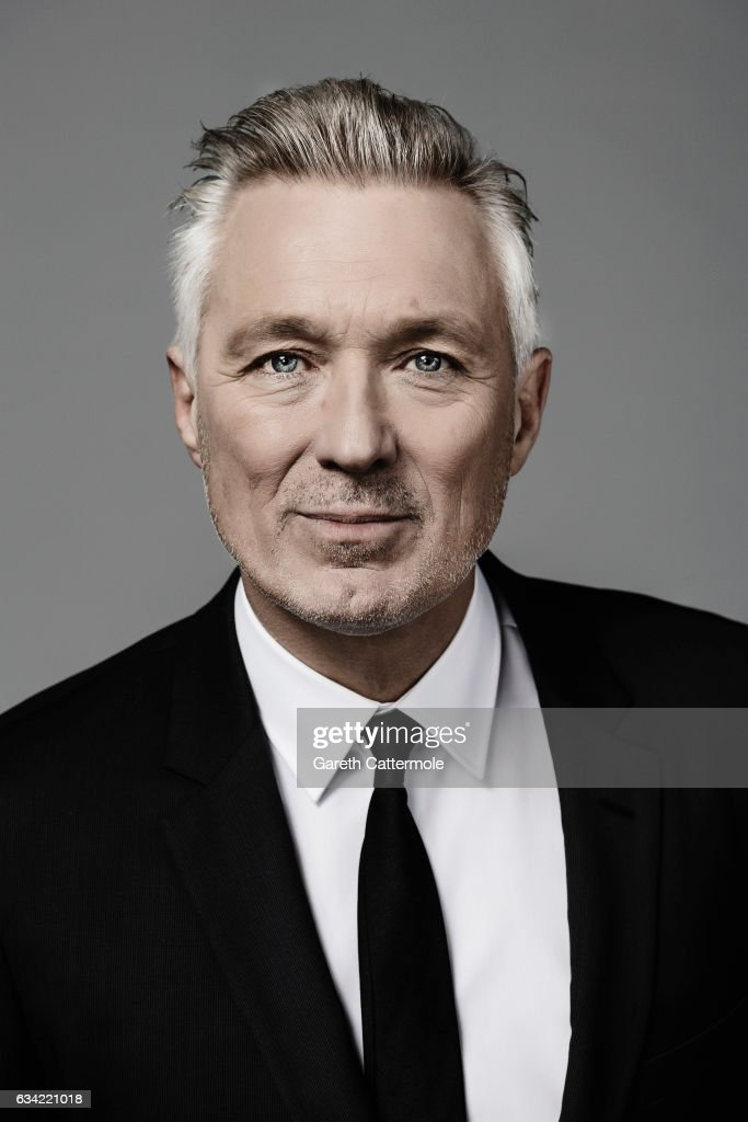 Musician and actor Martin Kemp is photographed at the National Television Awards on January 25, 2017 in London, England.