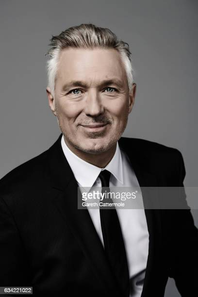 Musician and actor Martin Kemp is photographed at the National Television Awards on January 25 2017 in London England