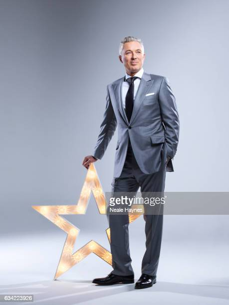 Musician and actor Martin Kemp is photographed for the Daily Mail on December 12 2016 in London England