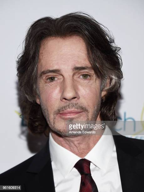 Musician and actor Rick Springfield arrives at the Didi Hirsch Mental Health Services' 2018 Erasing The Stigma Leadership Awards at The Beverly...