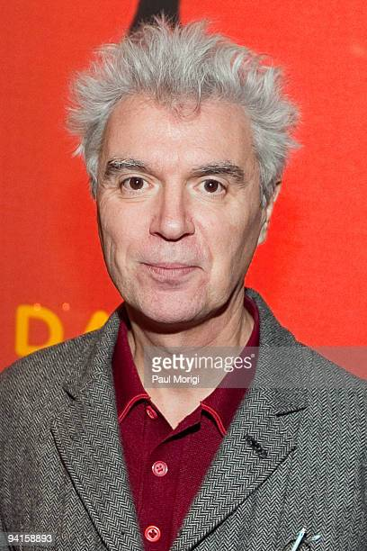 Musician and author David Byrne attends the Cities Bicycles and the Future of Getting Around panel discussion hosted by The Brookings Institution and...