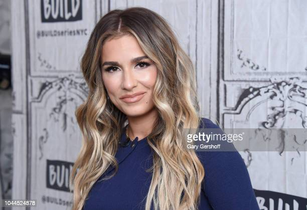 Musician and author Jessie James Decker visits Build Brunch to discuss her book 'Just Jessie My Guide to Love Life Family and Food' at Build Studio...