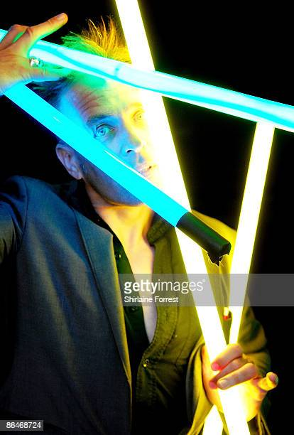 Musician and Author John Robb poses offstage at Channel M's 'City Life Social Session' at Urbis on May 6, 2009 in Manchester, England.