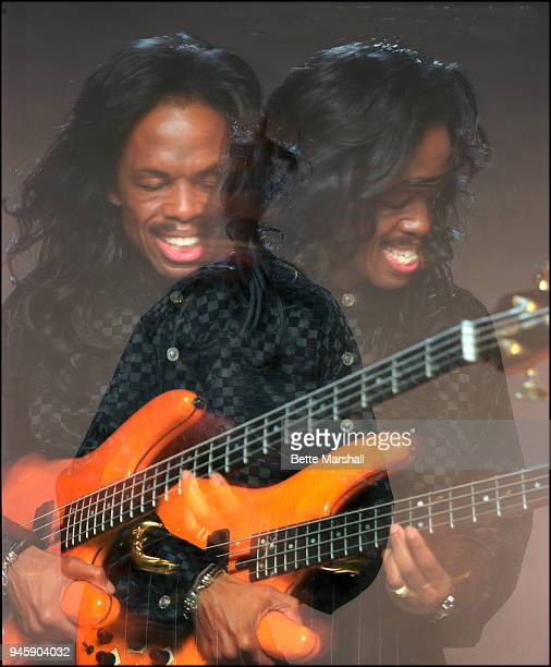 Musician and bassist for Earth Wind Fire Verdine White is photographed 1998 in New York City