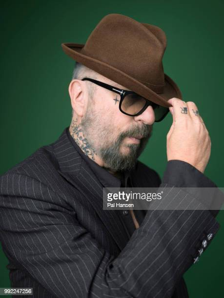 Musician and composer Dave Stewart is photographed for the Observer on February 23 2018 in London England