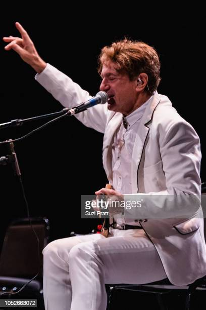 Musician and composer Goran Bregovic and his band perform at The Moore Theatre on October 20 2018 in Seattle Washington