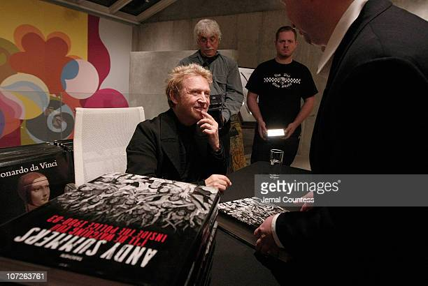 Musician and Photographer Andy Summers signs copies of his new book during an Instore appearence celebrating the release of his new photo book I'll...